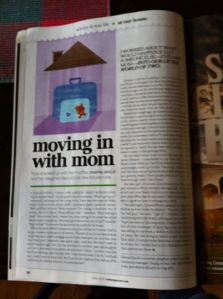 Today's Parent Article. April Edition. Page 36. In case you were curious